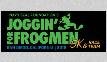 Navy SEAL Foundation Joggin/' for Frogmen 5K Medal U.S